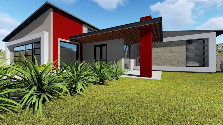 House Ruu - Venda Thohoyandou:  Houses by BlackStructure