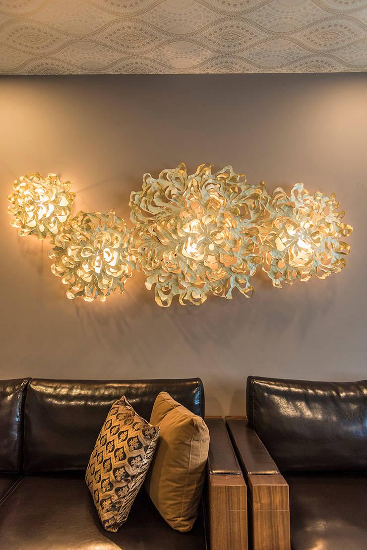 Living Room Close-up:  Living room by Studio An-V-Thot Architects Pvt. Ltd.,Modern
