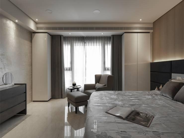 家.語彙:  臥室 by 竹村空間 Zhucun Design