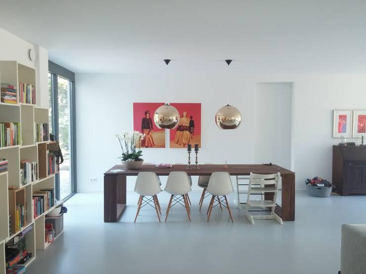 Nieuwbouw Villa te Haarlem:   door Architectenbureau Ron Spanjaard BNA