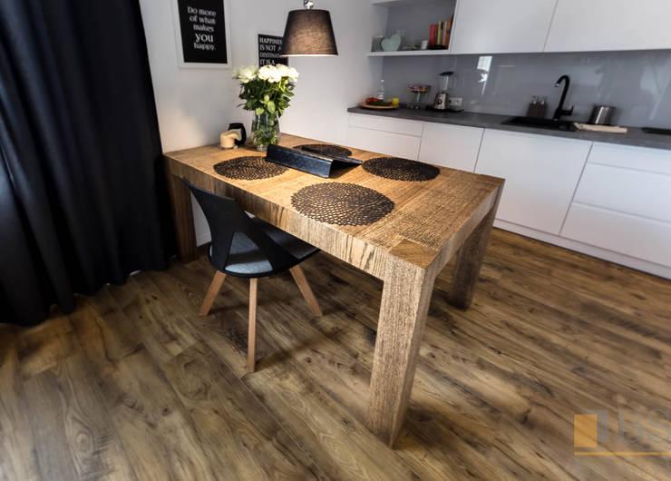 Stół do jadalni: styl , w kategorii Jadalnia zaprojektowany przez PPHU BOBSTYL,