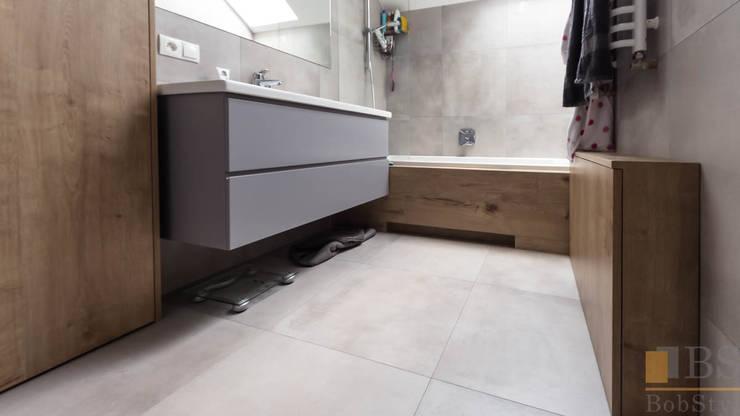 nowoczesne meble: styl , w kategorii Łazienka zaprojektowany przez PPHU BOBSTYL,