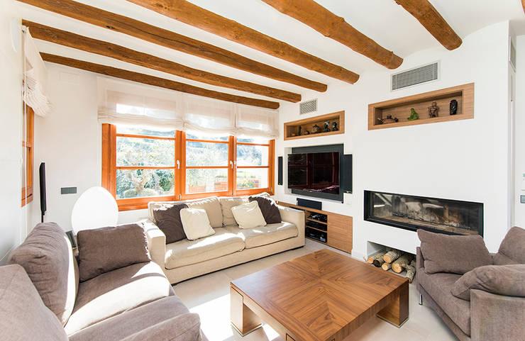 غرفة المعيشة تنفيذ Silvia R. Mallafré