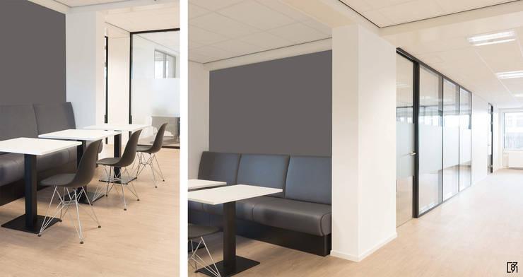 Kantoorruimte Rijswijk:  Kantoor- & winkelruimten door Atelier Perspective Interieurarchitectuur