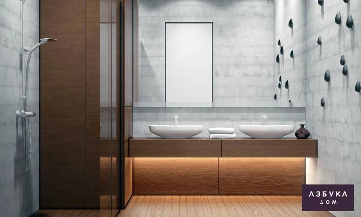 Bathroom by Студия дизайна 'Азбука Дом'