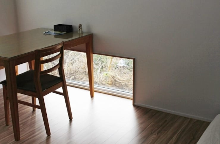 나무고래.집: AAPA건축사사무소의  방,모던