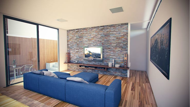 Casa LUZ SP: Salas multimídia  por OMA Arquitetura