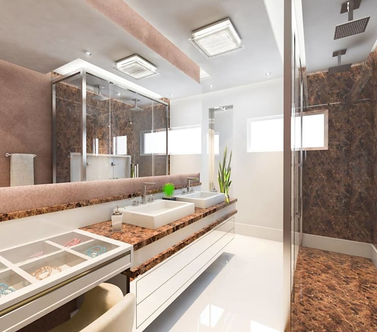 Banheiro Master By Lucas Garcia Bonini Designer De Interiores Homify