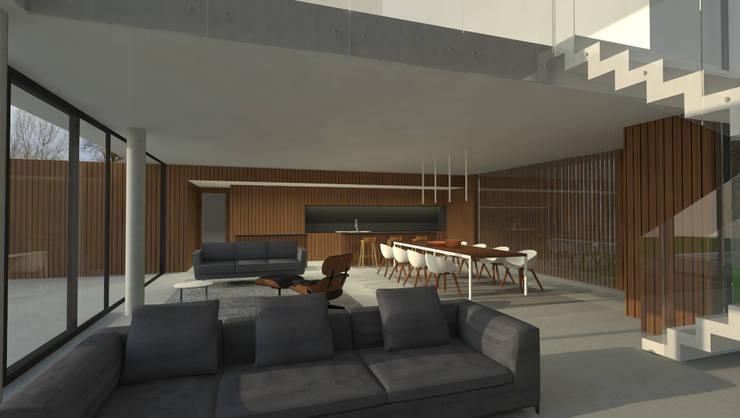 Interior:  de estilo  por Metamorfosis Arquitectura