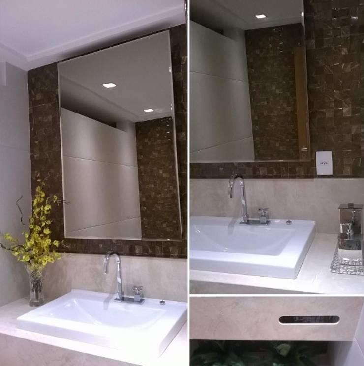 Lavabo: Banheiros  por LVM Arquitetura,Moderno