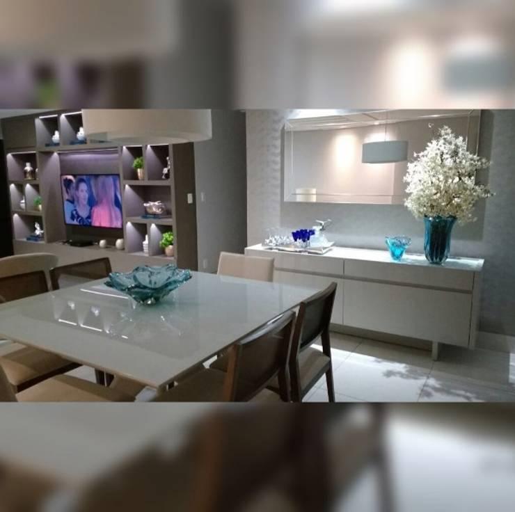 Sala de Jantar: Salas de jantar  por LVM Arquitetura,Moderno