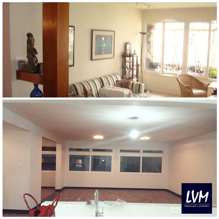 Salas de estilo moderno de LVM Arquitetura Moderno