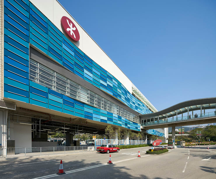 MTR Ocean Park Station, Hong Kong:   by Aedas