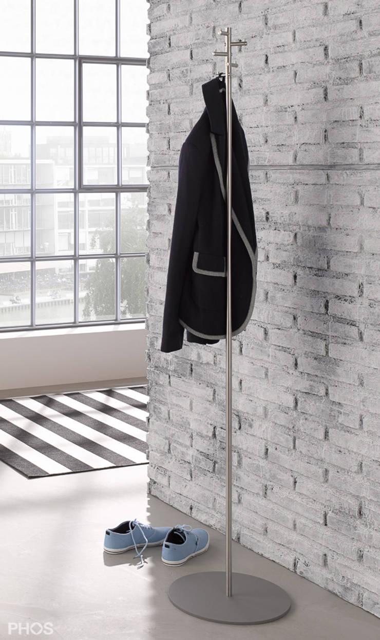 Phos Design kleiderständer und garderobenständer in edelstahl designphos