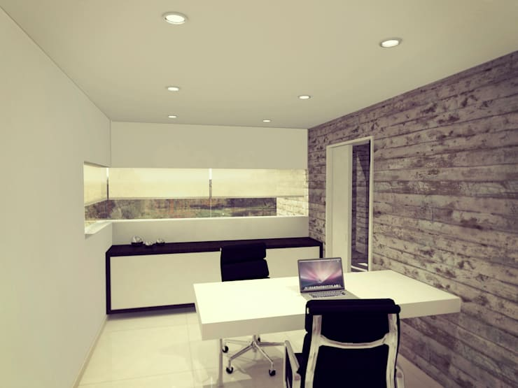 Study/office by Metamorfosis Arquitectura, Modern
