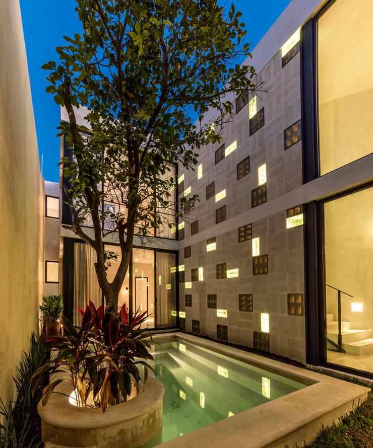 Projekty,  Basen zaprojektowane przez Taller Estilo Arquitectura