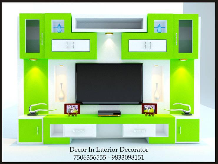 Tv Unit: modern Living room by Decor In Interior Decorator