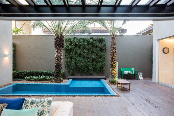 庭院 by Le Jardin Arquitectura Paisagística
