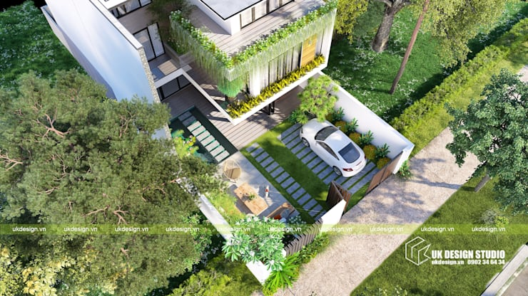 Rumah by UK DESIGN STUDIO - KIẾN TRÚC UK