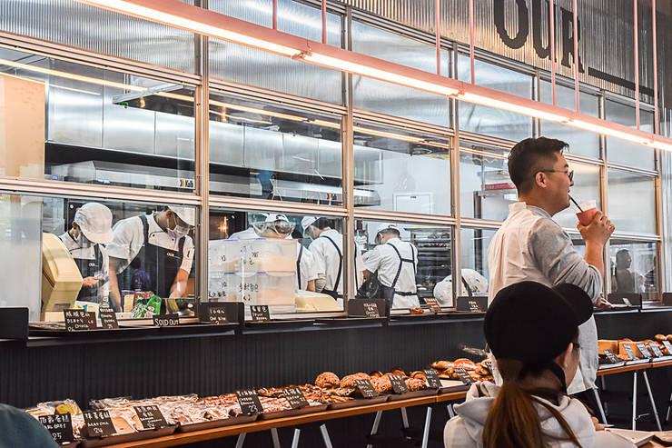 Our Bakery, Beijing: studio xsxl의  가게,