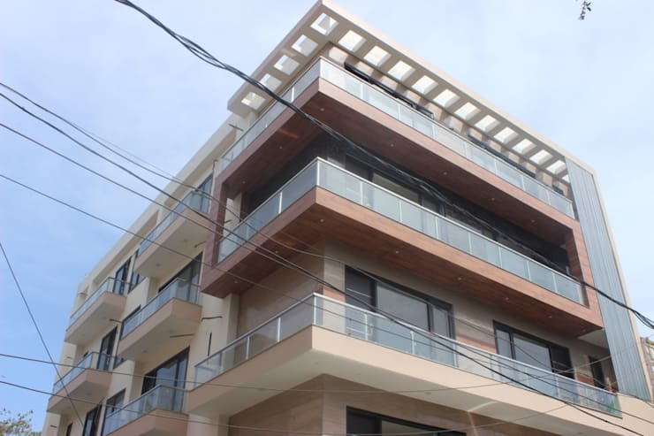 Full house Architecture & Interior Designing:  Houses by Prodigy Designs
