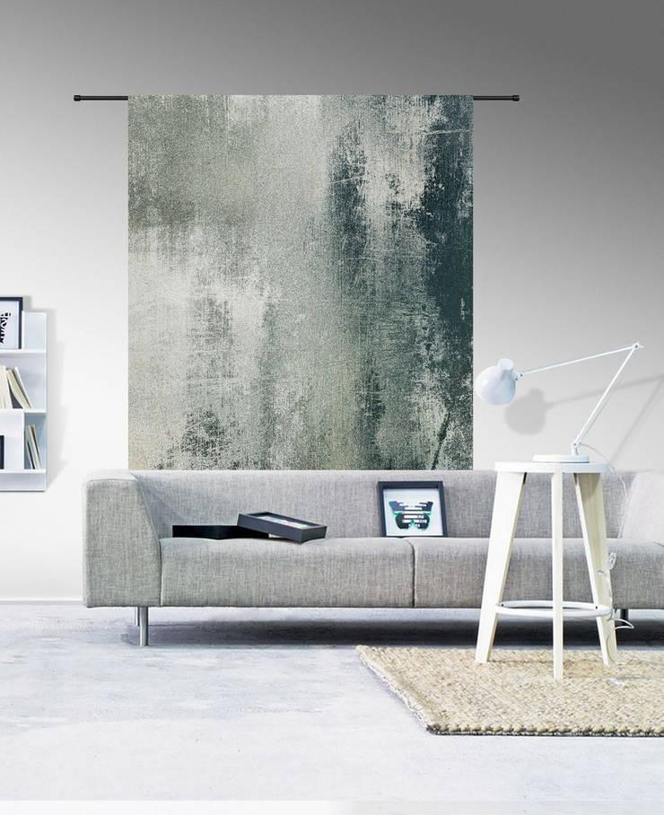 Wanddecoratie Grunge:  Muren & vloeren door Sfeerberg wonen & meer