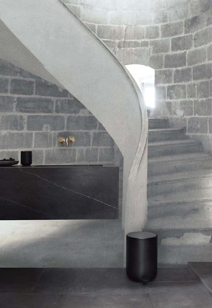 floor: Bagno in stile  di Creativespace