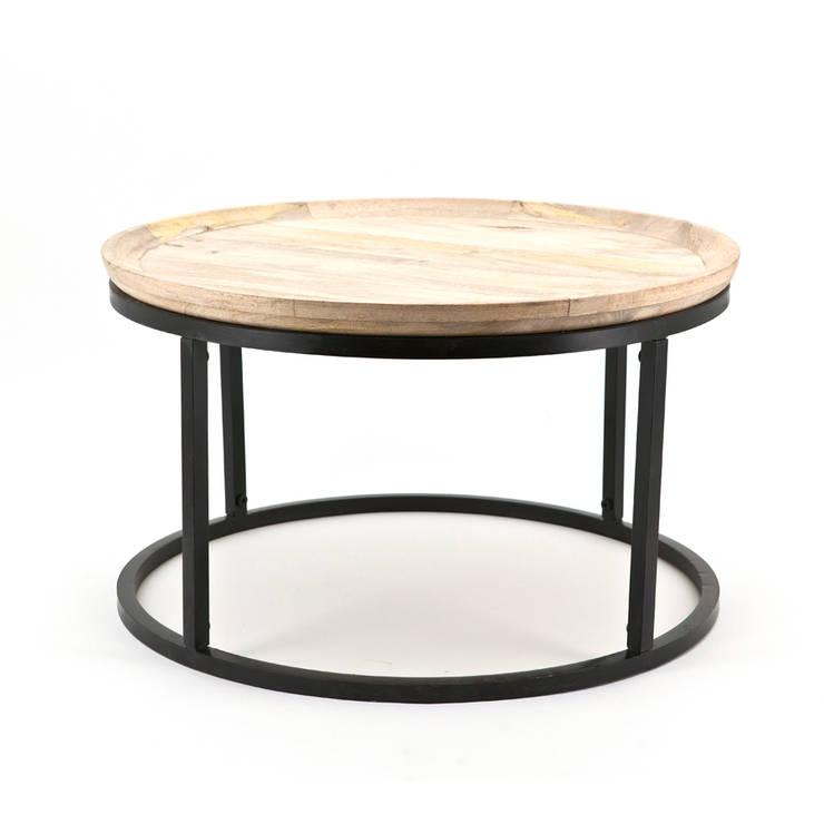 Bijzettafel; Table Solo (1551):   door Sfeerberg wonen & meer, Industrieel