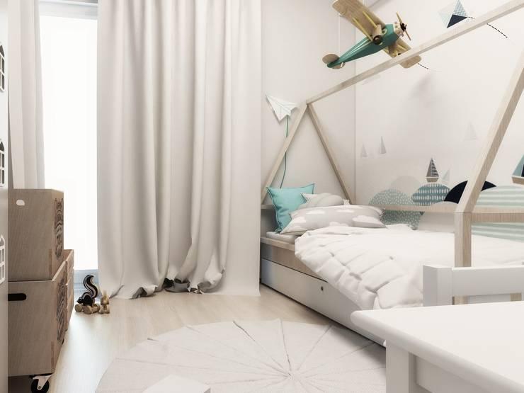 Nursery/kid's room by FOORMA Pracownia Architektury Wnętrz