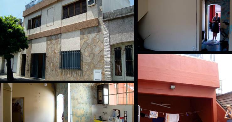 Casa M_1087: Casas de estilo  por ELVARQUITECTOS