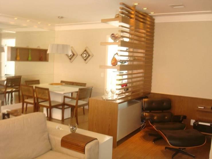 Estudios y oficinas de estilo  por LVM Arquitetura