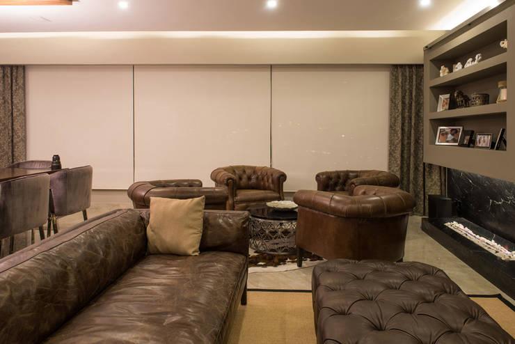 Ruang Keluarga oleh ARCO Arquitectura Contemporánea , Modern