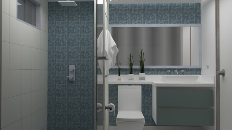 Bathroom by Arq. Marynes Salas