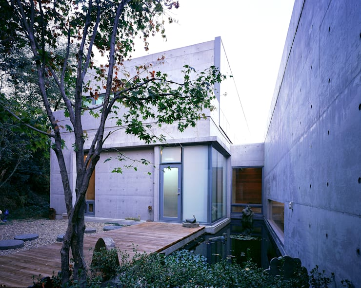 와촌 도자기공방: 건축사사무소 힘의  정원,