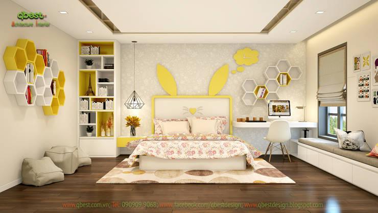 Phòng ngủ bé gái:  Kitchen by Công ty TNHH Thiết Kế và Ứng Dụng QBEST