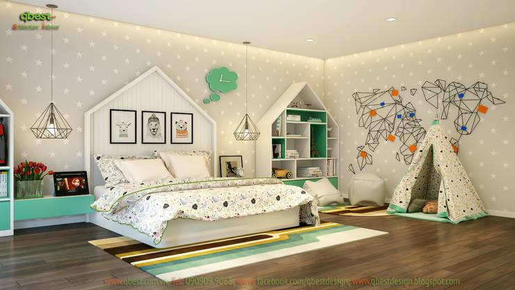 Phòng ngủ bé trai:  Kitchen by Công ty TNHH Thiết Kế và Ứng Dụng QBEST