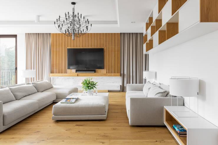 Living room by Ayuko Studio