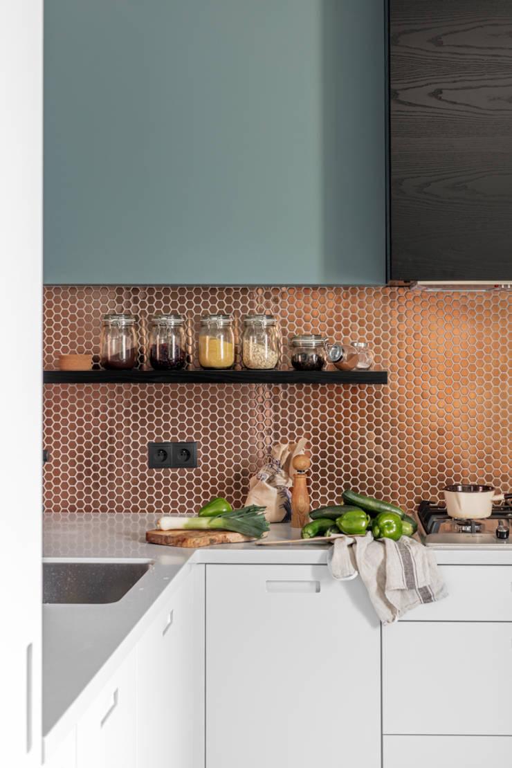 Cocinas de estilo  por Ayuko Studio , Moderno