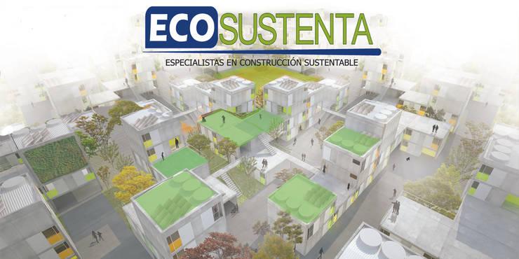 Ecosustenta. Especialistas en Arquitectura y Construcción Sustentable.:  de estilo  por Ecosustenta. Arquitectura Ingenierìa y Construcciòn Sustentable