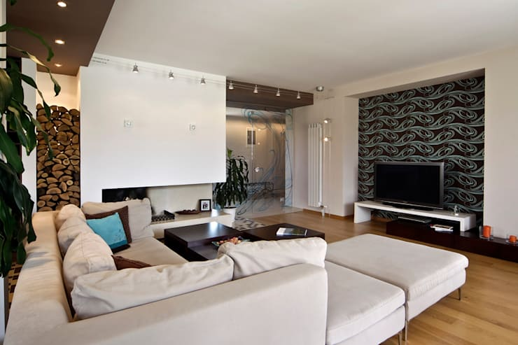 Mangalore Interior Design Projects: classic Living room by Chavadi Interiors