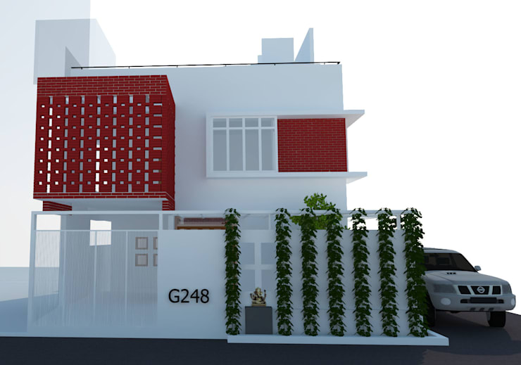 Residence For Mr Hari Haran:   by HB Space Design Build
