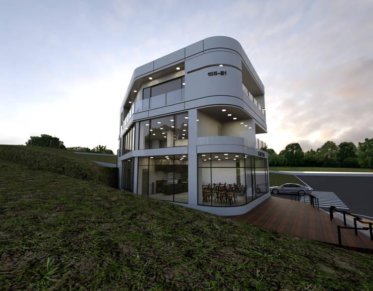 주상복합건물-충청남도 논산시 L씨: 디자인 이업의  주택