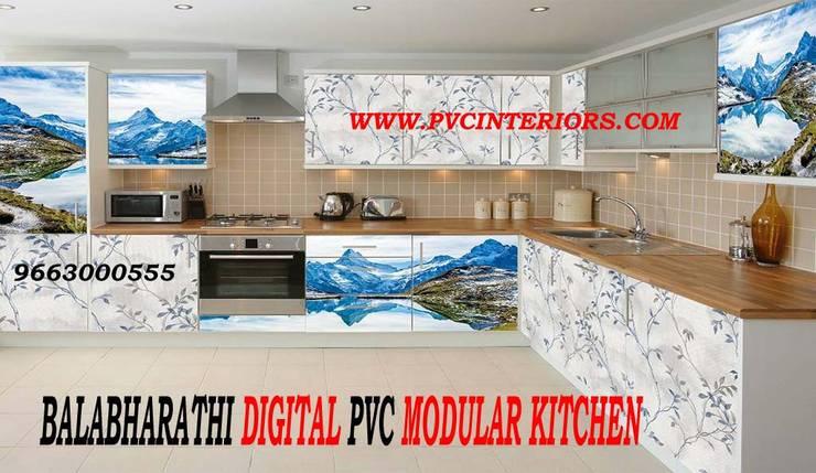 BALABHARATHI Digital PVC Interior Design :  Living room by balabharathi pvc interior design