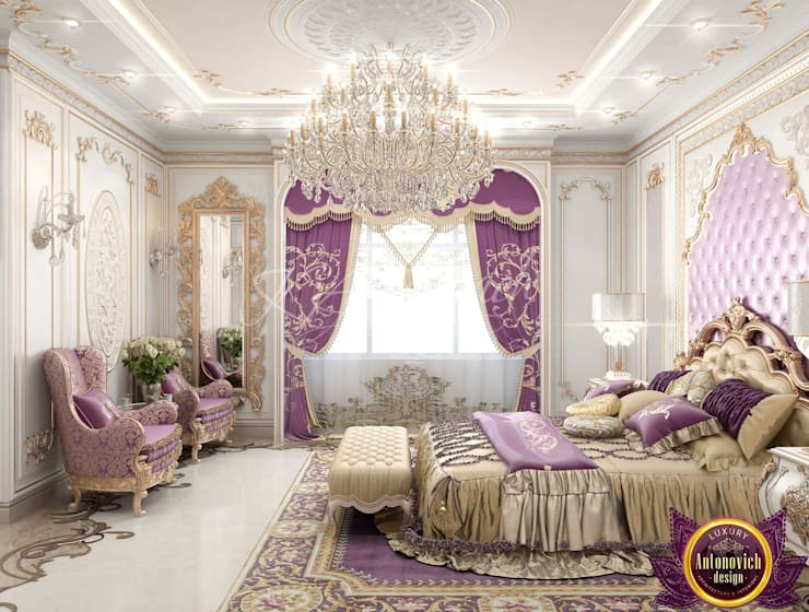 ​  Best Master Bedroom Design Ideas of Katrina Antonovich:  Bedroom by Luxury Antonovich Design