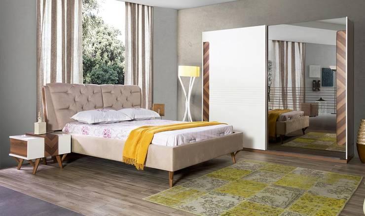 modern Bedroom تنفيذ YILDIZ MOBİLYA
