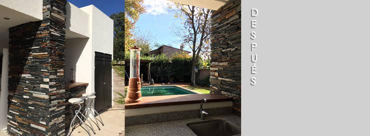 Casa Brizio:  de estilo  por Estudio Victoria Suriguez,