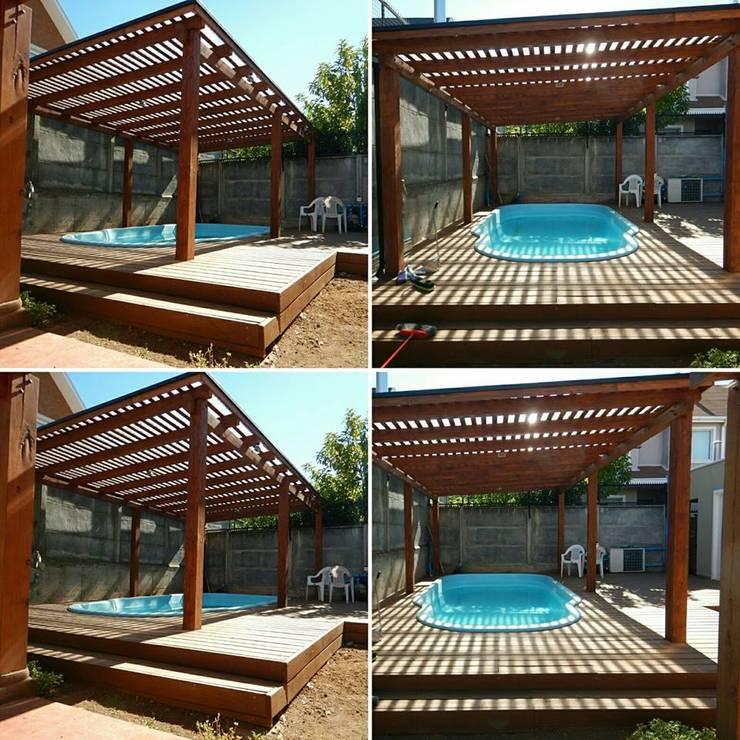 15 piscinas para patios peque os ideales para el verano for Piscinas desmontables para patios pequenos