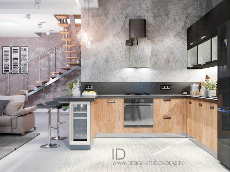Dapur by Студия дизайна Interior Design IDEAS
