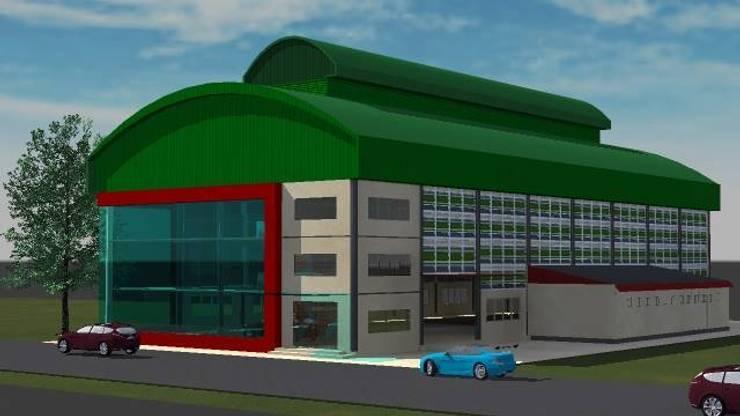 ออกแบบ 3d    Fitness   warehouse  ให้ลูกค้า:  บ้านและที่อยู่อาศัย by mayartstyle