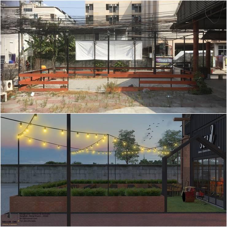 งานออกแบบปรับปรุงพื้นที่เก่า:  ตกแต่งภายใน by DesignOne Bkk